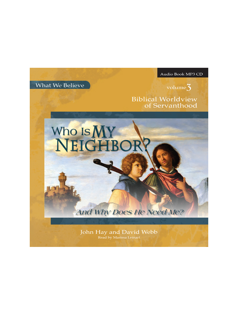 Who Is My Neighbor? Audio CD - Product Image