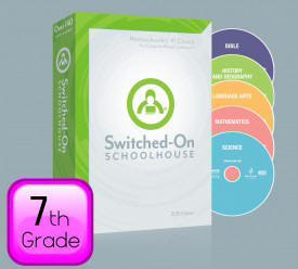 2015 Switched-On Schoolhouse 7th Grade Set - Product Image