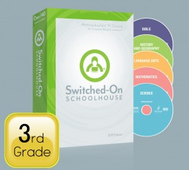 2015 Switched-On Schoolhouse 3rd Grade Full Set - Product Image
