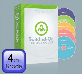 2015 Switched-On Schoolhouse 4th Grade Set - Product Image