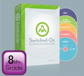 2015 Switched-On Schoolhouse 8th Grade Set - Product Image