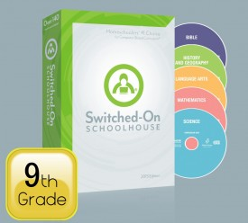 2015 Switched-On Schoolhouse 9th Grade Set - Product Image