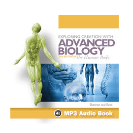 Apologia Advanced Biology (Human Body) Audio CD - Product Image
