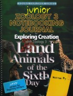 Apologia Elementary: Exploring Creation with Zoology 3 Junior Notebooking Journal - Product Image