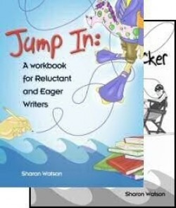 Apologia Jump In: A Workbook for Reluctant and Eager Writers (2 Book Set) - Product Image