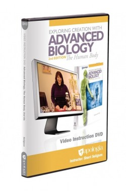Advanced Biology: The Human Body 2nd Edition Video Instruction DVD - Product Image