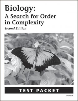 Christian Biology: A Search for Order in Complexity - Test Packet - Product Image