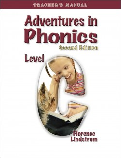 Christian Liberty Press Adventures in Phonics Level C Teacher's Manual - Product Image
