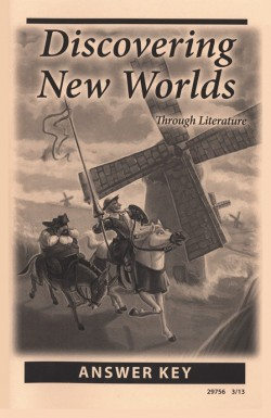 Christian Liberty Press Discovering New Worlds Answer Key - Product Image