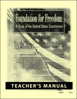 Christian Liberty Press Foundation for Freedom Teacher's Manual - Product Image