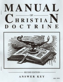 Christian Liberty Press Manual of Christian Doctrine Answer Key - Product Image