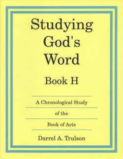 Christian Liberty Press Studying God's Word Book H - Product Image