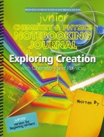 Exploring Creation with Chemistry and Physics Junior Notebooking Journal - Product Image