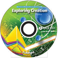Exploring Creation with Chemistry and Physics MP3 Audio CD - Product Image