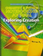 Exploring Creation with Chemistry and Physics Notebooking Journal - Product Image
