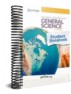 General Science - 3rd Edition, Student Notebook - Product Image