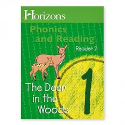 Horizons 1st Grade Phonics & Reading Reader 2: The Deer in the Woods - Product Image
