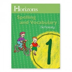 Horizons 1st Grade Spelling and Vocabulary Dictionary - Product Image