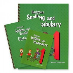 Horizons 1st Grade Spelling and Vocabulary Set - Product Image
