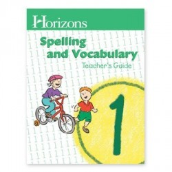 Horizons 1st Grade Spelling and Vocabulary Teacher's Guide - Product Image