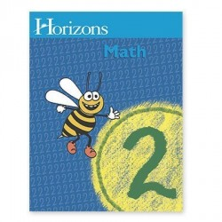 Horizons 2nd Grade Math Student Book 1 - Product Image