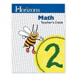 Horizons 2nd Grade Math Teacher's Guide - Product Image