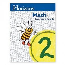 Horizons 2nd Grade Math Teacher's Guide - Product Image
