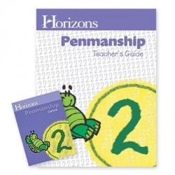 Horizons 2nd Grade Penmanship Set - Product Image