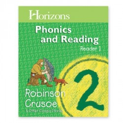 Horizons 2nd Grade Phonics & Reading Reader 1: Robinson Crusoe - Product Image