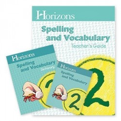 Horizons 2nd Grade Spelling and Vocabulary Set - Product Image
