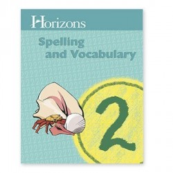 Horizons 2nd Grade Spelling and Vocabulary Student Book - Product Image