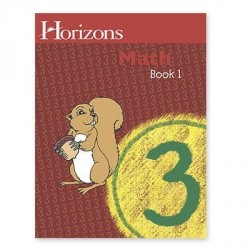 Horizons 3rd Grade Math Student Book 1 - Product Image