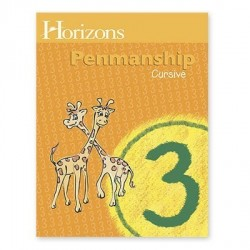 Horizons 3rd Grade Penmanship Student Book - Product Image