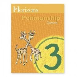 Horizons 3rd Grade Penmanship Student Book - Product Image