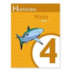 Horizons 4th Grade Math Student Book 1 - Product Image
