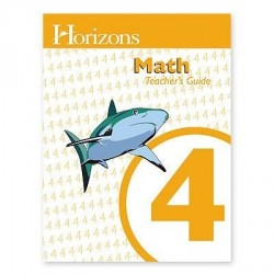 Horizons 4th Grade Math Teacher's Guide - Product Image