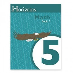 Horizons 5th Grade Math Student Book 1 - Product Image
