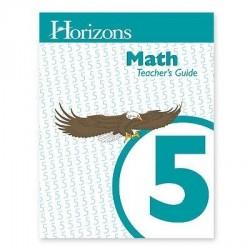 Horizons 5th Grade Math Teacher's Guide - Product Image