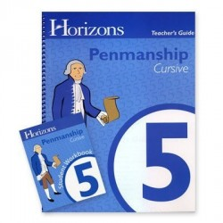 Horizons 5th Grade Penmanship Set - Product Image