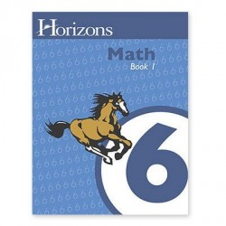 Horizons 6th Grade Math Student Book 1 - Product Image