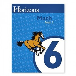 Horizons 6th Grade Math Student Book 2 - Product Image