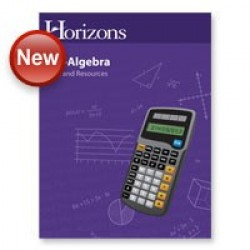 Horizons Pre-Algebra Test and Resources Book - Product Image