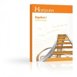 Horizons Algebra I Teacher's Guide - Product Image