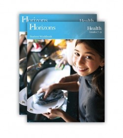 Horizons Health 7th and 8th Grade Set - Product Image