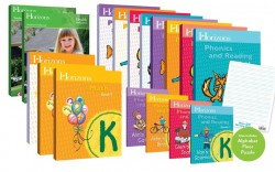 Horizons Kindergarten Complete Set (Set Includes: Math, Health, Phonics & Reading) - Product Image