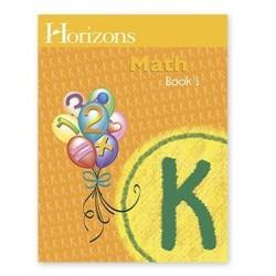 Horizons Kindergarten Math Student Book 1 - Product Image