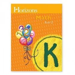 Horizons Kindergarten Math Student Book 2 - Product Image