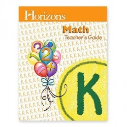 Horizons Kindergarten Math Teacher's Guide - Product Image