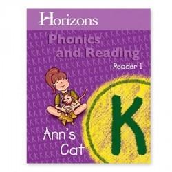 Horizons Kindergarten Phonics & Reading Reader 1: Ann's Cat - Product Image