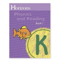 Horizons Kindergarten Phonics & Reading Student Book 1 - Product Image